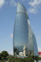 Aserbaidschanreise: Flame-Towers Baku