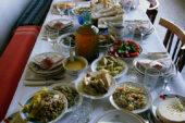 Georgien-Weinreise-georgische-tafel